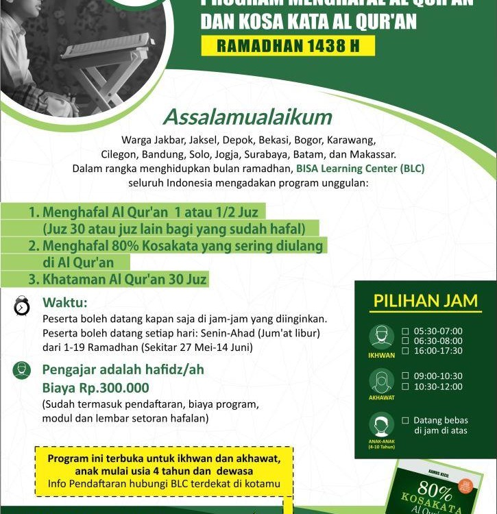 program ramadhan